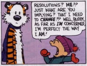 Calvin & Hobbes - Resolutions